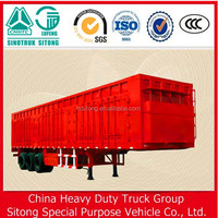 Manufacturer Cargo Box Semi Trailer Transport Van Truck Trailers Vehicle