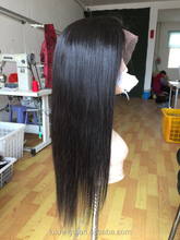 High quality wholesale cheap brazilian human hair full lace wig sew in