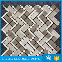 Factory Interior Floor And Wall Grey Marble Tile Mosaics