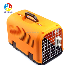 Small cheap plastic animal travel cage/basket