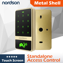 Security Door Device Metal Touch Screen RFID Card Standalone Access Control