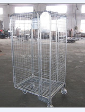 double lyers cargo rolling cage,roll tainer,roll container