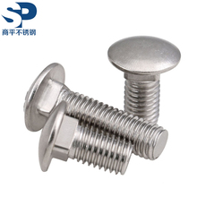 201 202 301 304 316 316L C276 904L Stainless Steel Carriage Bolt/DIN603