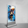 Advertising display stand Aluminum frame poster light box LED scrolling light box
