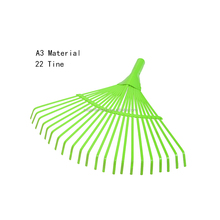 A3 22T farm steel harrow wholesale head bow garden rake