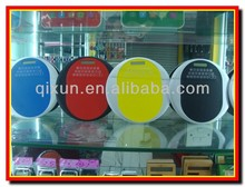 2014 new promotional custom logo calculator, plastic material calculator, round shape mouse pad/mat calculator