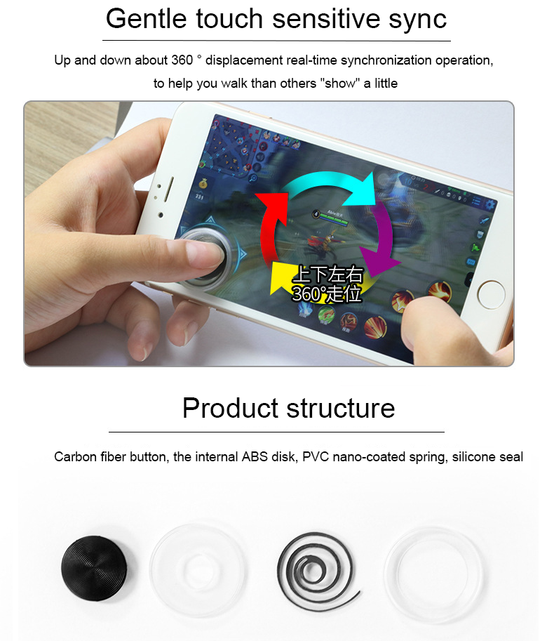 Picture and physical object is conformity / 3 4 generation Mini Joystick Gun Smartphone Android Mobile Smart Phone Joystick