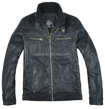 black cordura motorcycle waterproof winter jacket for men