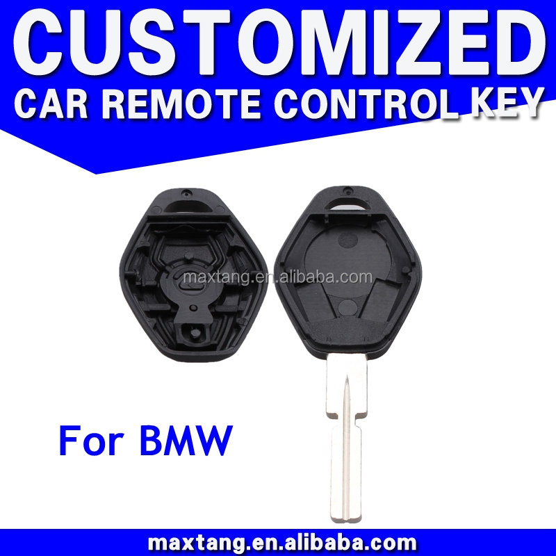 Auto Key Shell For BMW Mini Smart Key Entry Remote Fob Shell Case Replacement