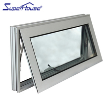 Australia Standard AS2047 Aluminum Window Door Top Hung Bottom Opening Awning Windows For Sale
