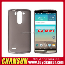 Alibaba Factory Price ultra thin transparent tpu case Soft Gel TPU Case Cover For Lg G3 Mini with high quality