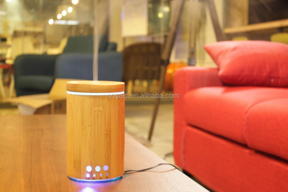 150ml led wood aroma diffuser with BPA free