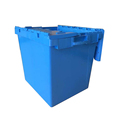Large capacity 172 litre plastic stacking containers with hinged lids
