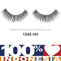 Human Hair Eyelashes Made in Indonesia