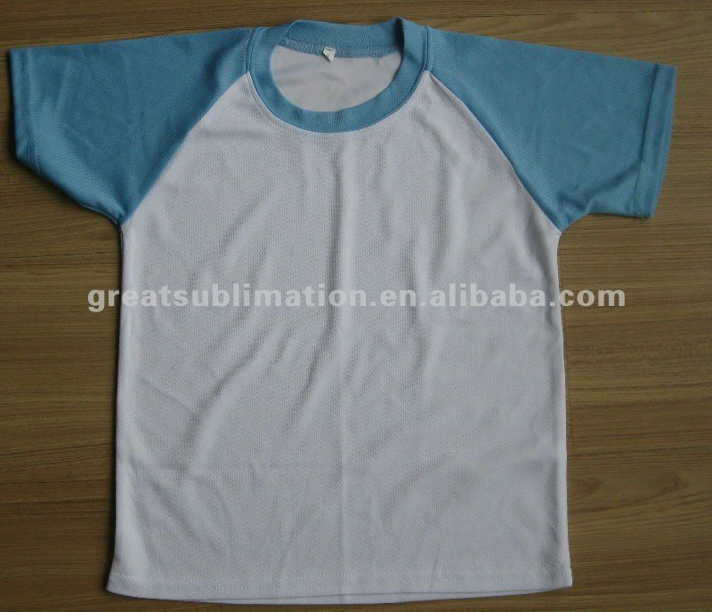 Sublimation printable T shirt