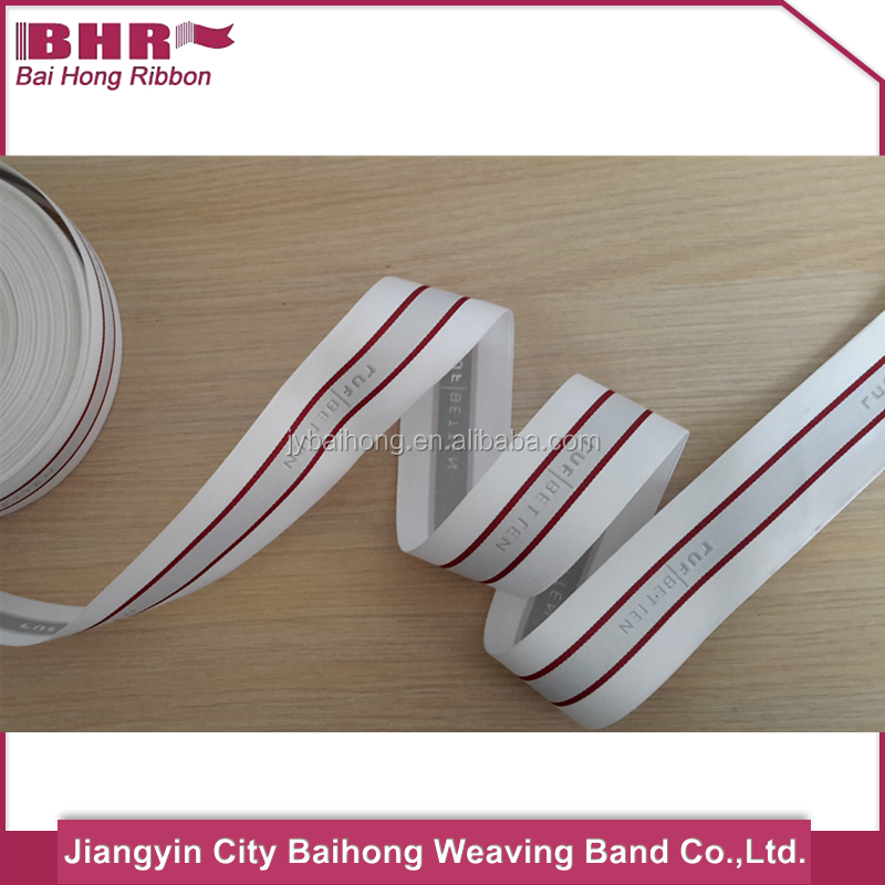 Pattern polyester mattress belt band 35mm for home textile
