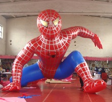 Customized design inflatable spider man cartoon for sale,giant inflatable spiderman