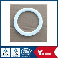 Soft silicon rubber flat o ring gasket for lamp light gasket for outdoor lighting