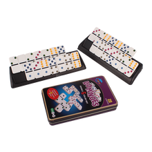 high quality domino 6 in tin box.