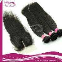 Alibaba French Cheap And Top Quality Closure Brazilian Weave