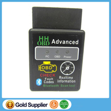 HHOBD Advanced ELM327 Bluetooth OBD2 V2.1 Check Fault Code Erase Trouble Code Scanner for Car Diagnostic
