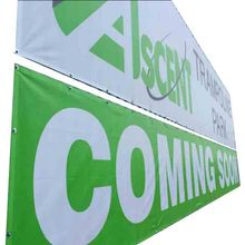 Outdoor Fabric Fence Mesh Banner pvc Wall Banner Screen Printing