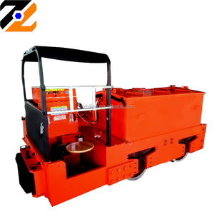 Easy operation coal mining machinery 5T underground electric battery locomotive