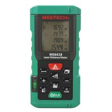 MASTECH MS6418 Laser Distance Meter 80M Distance Measure Digital Range Finder with Bubble <strong>Level</strong>