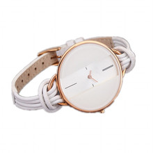 Hot fashion ultra-thin slim lady watch attractive design rose gold female orologio simple dial cheap timepieces