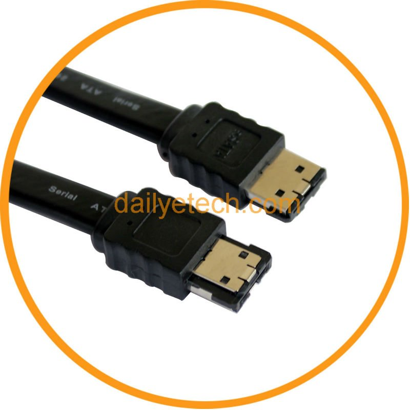M/M eSATA to eSATA External Cord Data Cable 1M from dailyetech