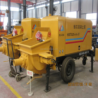 and good over sea service CE & ISO9001 Certification trailer concrete stationary pump