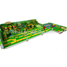 Vasia forest series children game play center soft indoor playground equipment