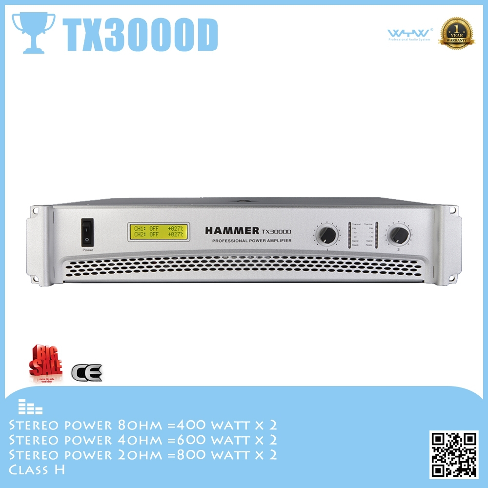 TX3000D tasso amplifier