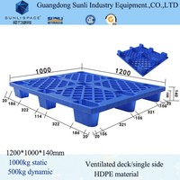 1200x1000 Nestable Plastic Beer Pallet for sale