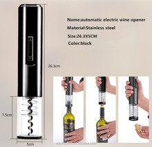 Hot selling fully automatic metallic electric wine opener