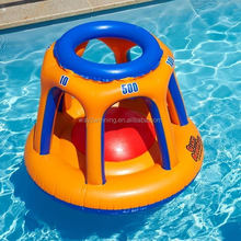 Giant inflatable Basketball toss float inflatable water pool toy