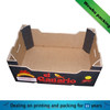 Corrugated paper fruit packing tray/ hot sale paper fruit gift box