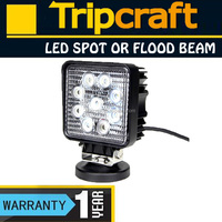 27W LED WORK LIGHT 12V,OFF ROAD,ATV,SUV,4x4 AUTO WORK LAMPS TC-2709S-27W