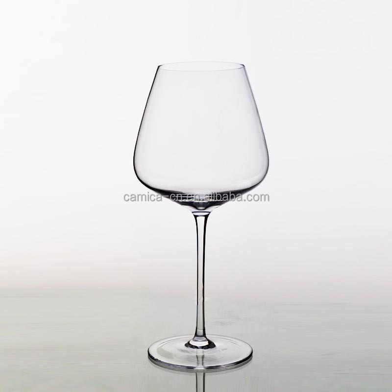 910ML Hand Blown Lead Free Crystal Wine Glass; Bohemia Crystal Wine Glass