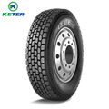 KETER brand TBR 295/80r22.5 drive tire good traction truck tires for paraguay