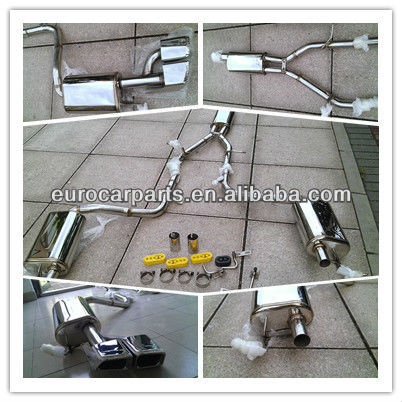 High quality conversion kit muffler for benz E-Class w212 style