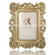 2017 New Style Antique Champagne Poly Resin Picture/Photo Frame