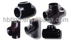 Hebei TL- carbon steel tee, pipe tee, reduced tee used for oil and gas