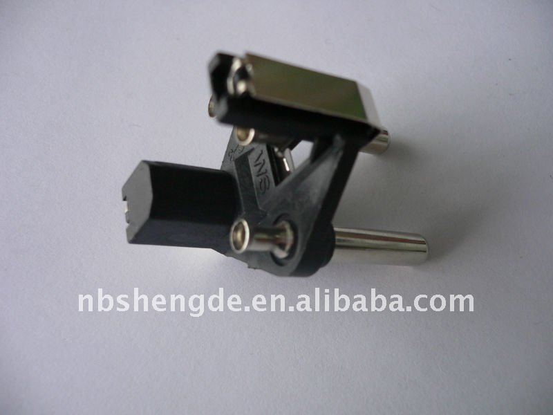 hollow style high quality brass power two pin plug
