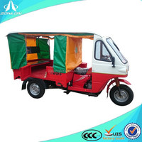 china 200cc moto taxi/ three wheel motorcycle taxi with roof
