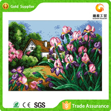 Hot Sale Handmade Diamond Embroidery 3D Picture Natural