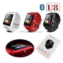 Factory Free sample U8 Smart Watch U8 Android Smart Watch DZ09 TW64 GT08 in stock smart watch all model