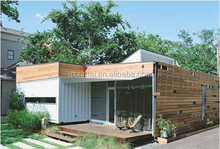 China Design Good Insulated Steel Module House Light Accommodation / Green Container House