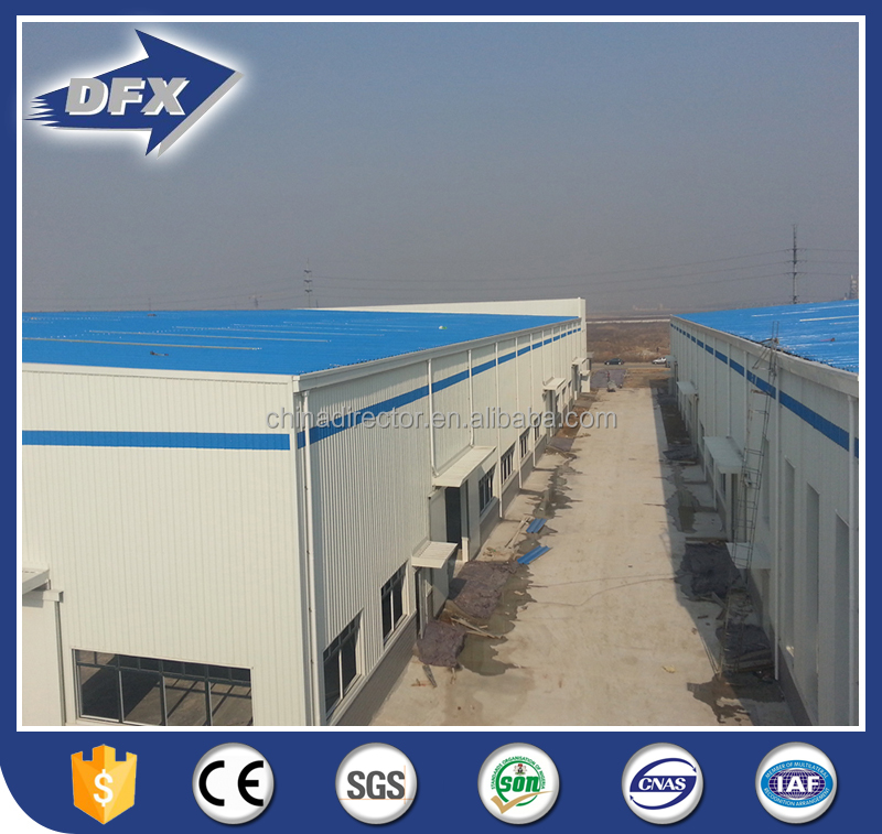 China Light Steel Construction Warehouse Buildings