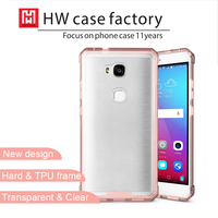 Cell phone Accessory Ultra Thin Clear Crystal Gel Soft TPU Phone Case For HUAWEI Honor 5X Case